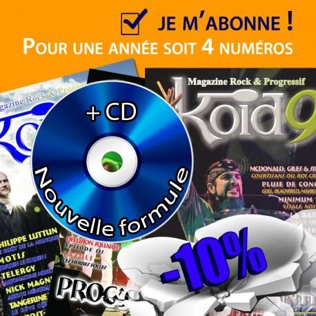 Abonnement + CD